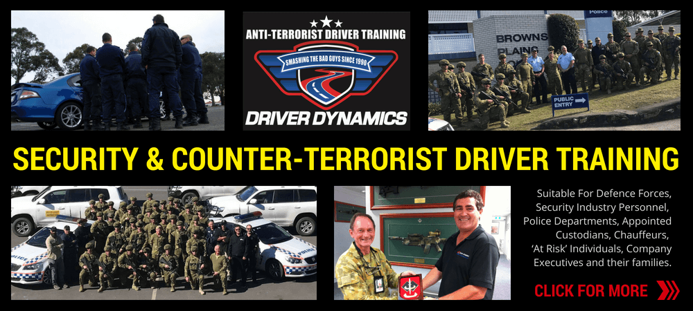 SECURITY & COUNTER-TERRORIST DRIVER TRAINING PROGRAMS